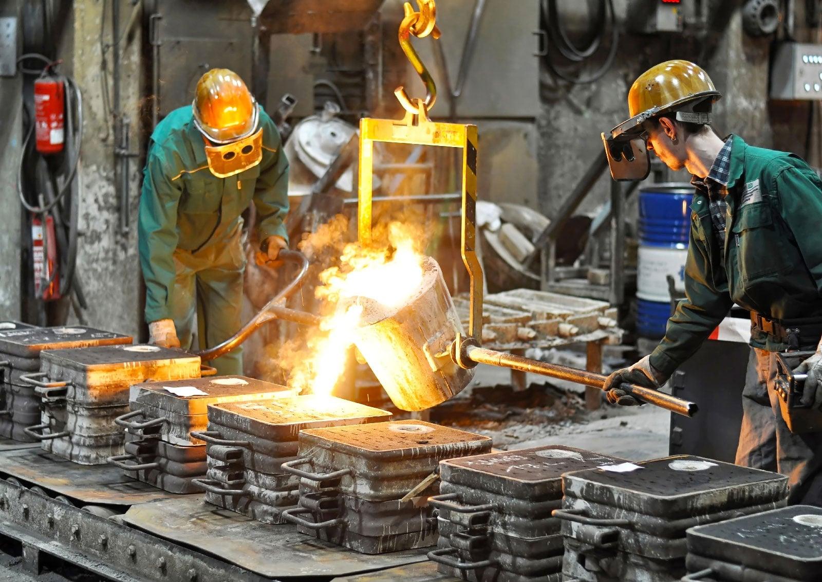 smeup industrial iot in un azienda siderurgica