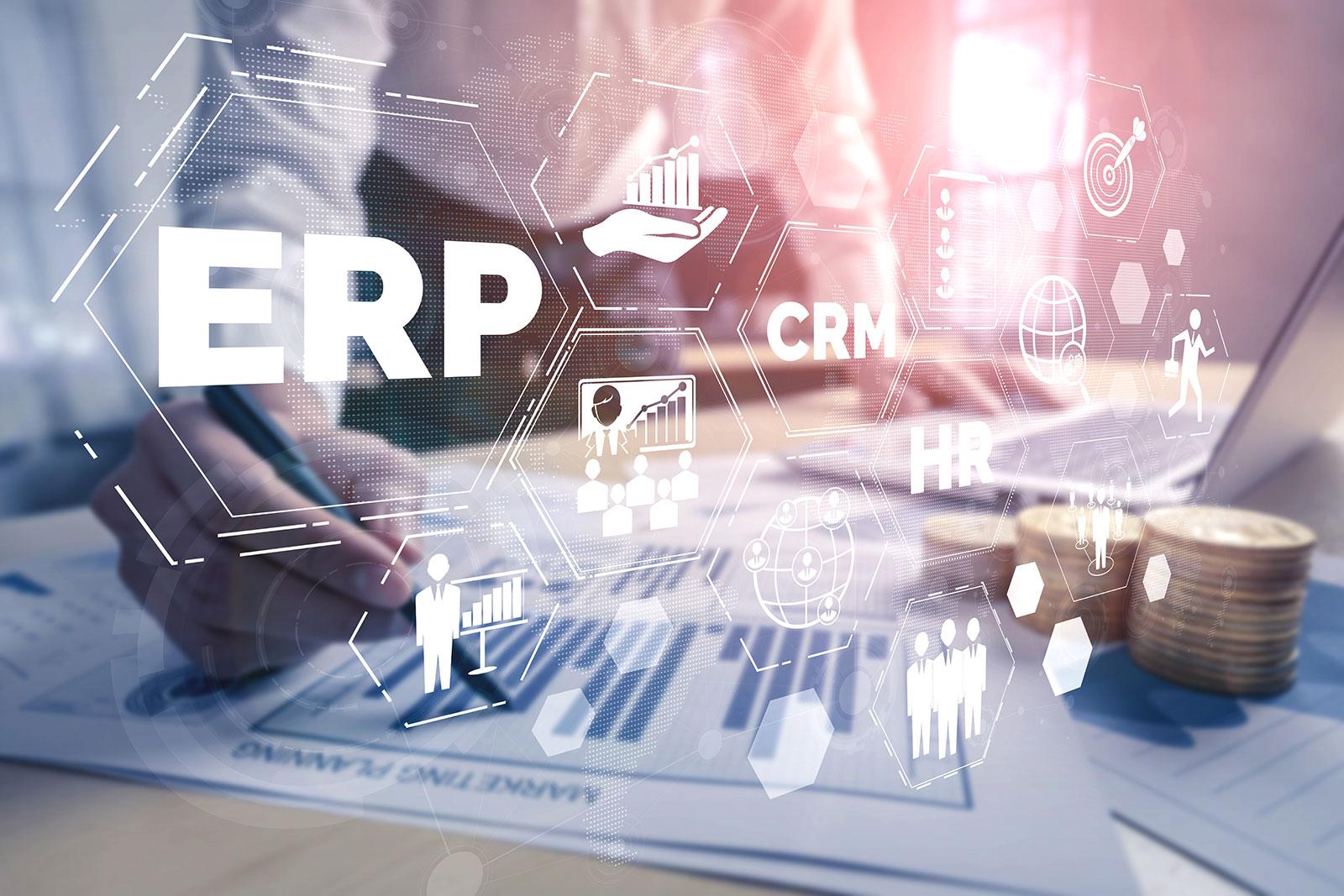 software CRM vs ERP