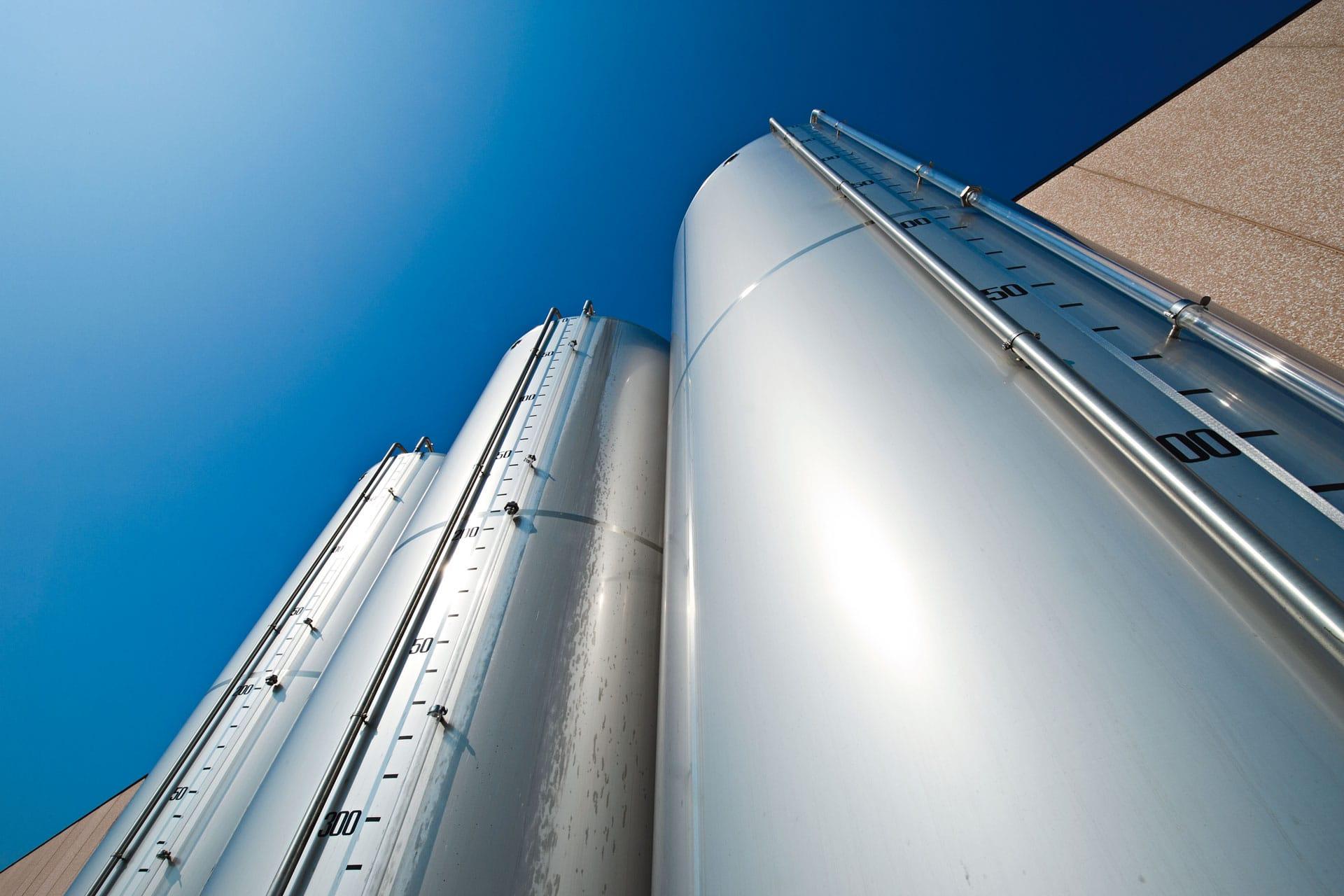 Olfood silos