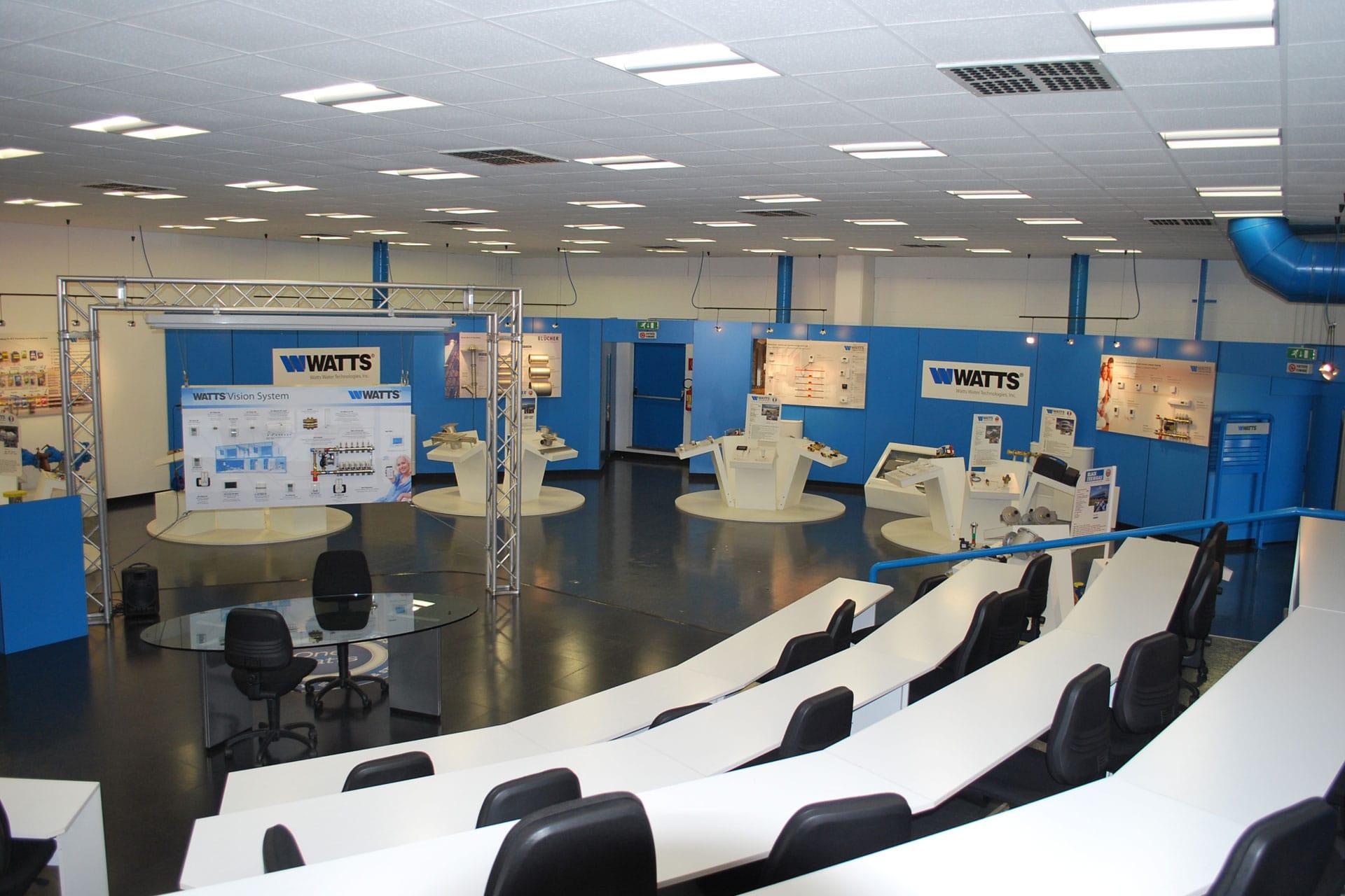 Watts Industries showroom
